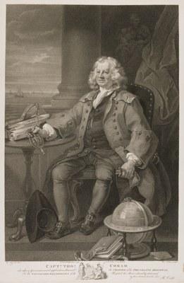 William Hogarth - Captain Thomas Coram
