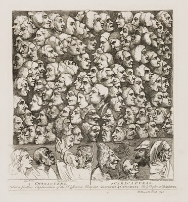 William Hogarth - Characters and Caricaturas