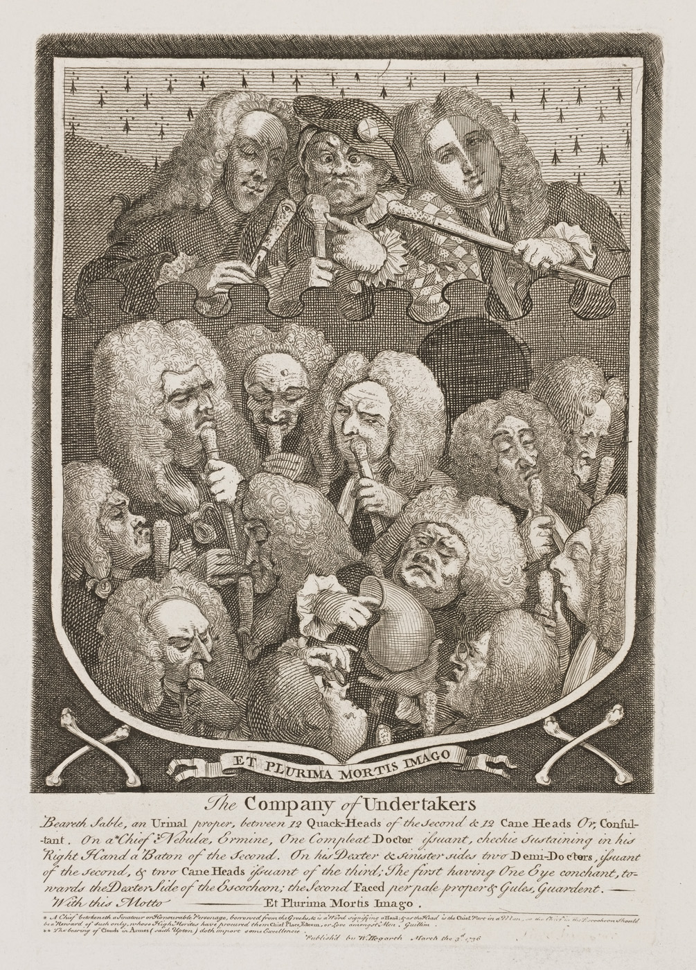 William Hogarth - Company of Undertakers