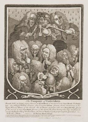 William Hogarth - Company of Undertakers
