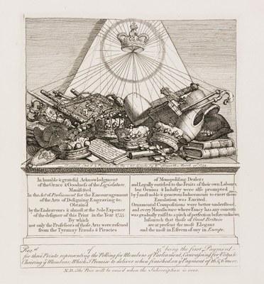 William Hogarth - Crowns, Mitres, Maces, &c.