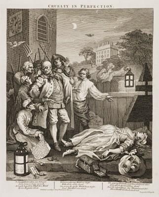 William Hogarth - Cruelty in Perfection