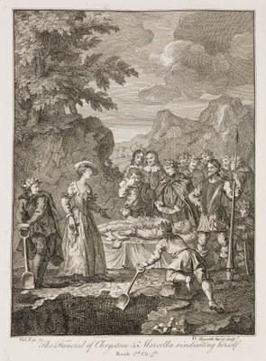 William Hogarth - Don Quixote I