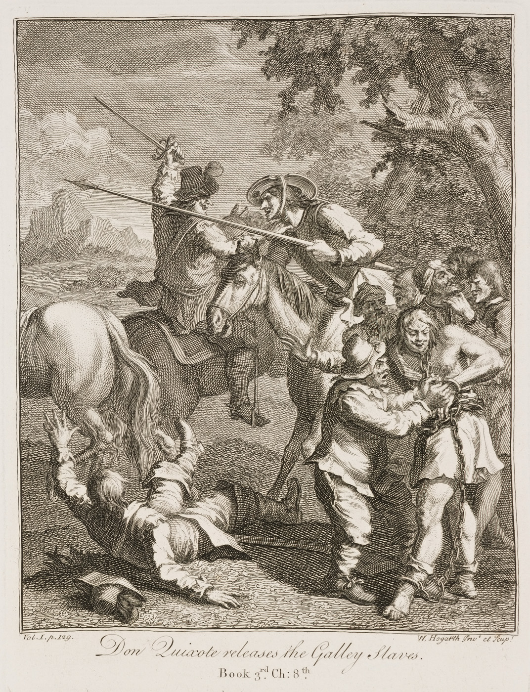 William Hogarth - Don Quixote III