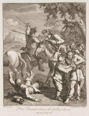 William Hogarth - Don Quixote III