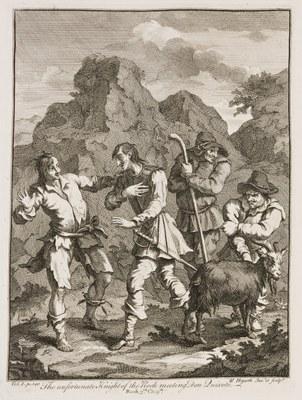 William Hogarth - Don Quixote IV