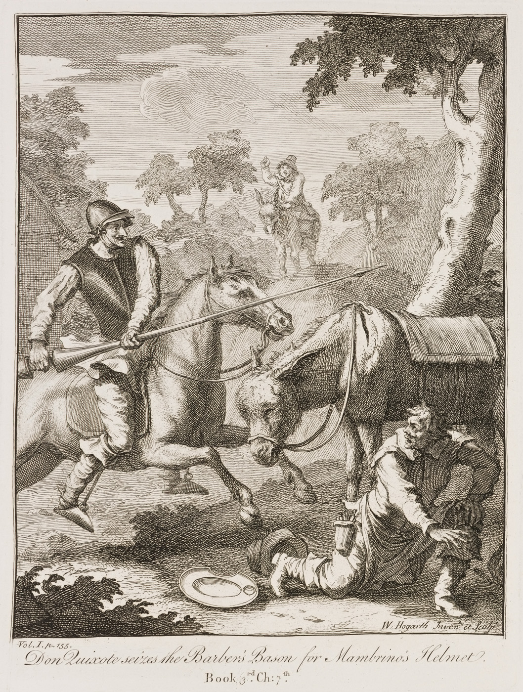 William Hogarth - Don Quixote V