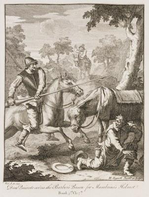 William Hogarth - Don Quixote V