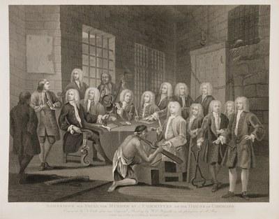 William Hogarth - Examination of Bambridge