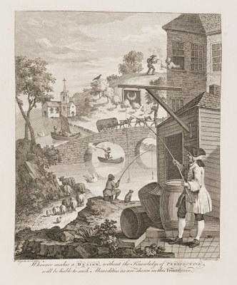 William Hogarth - False Perspective