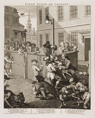William Hogarth - First Stage of Cruelty
