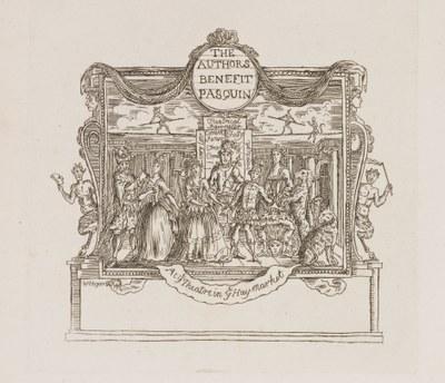 William Hogarth - For Pasquin