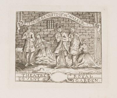 William Hogarth - For the Beggar's Opera