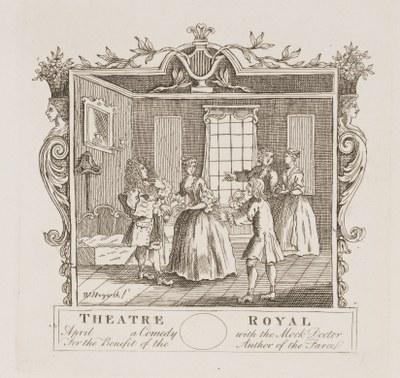William Hogarth - For the Mock Doctor