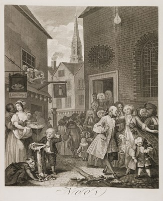 William Hogarth - Four Times of Day (noon)