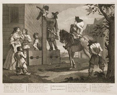 William Hogarth - Hudibras plate 10