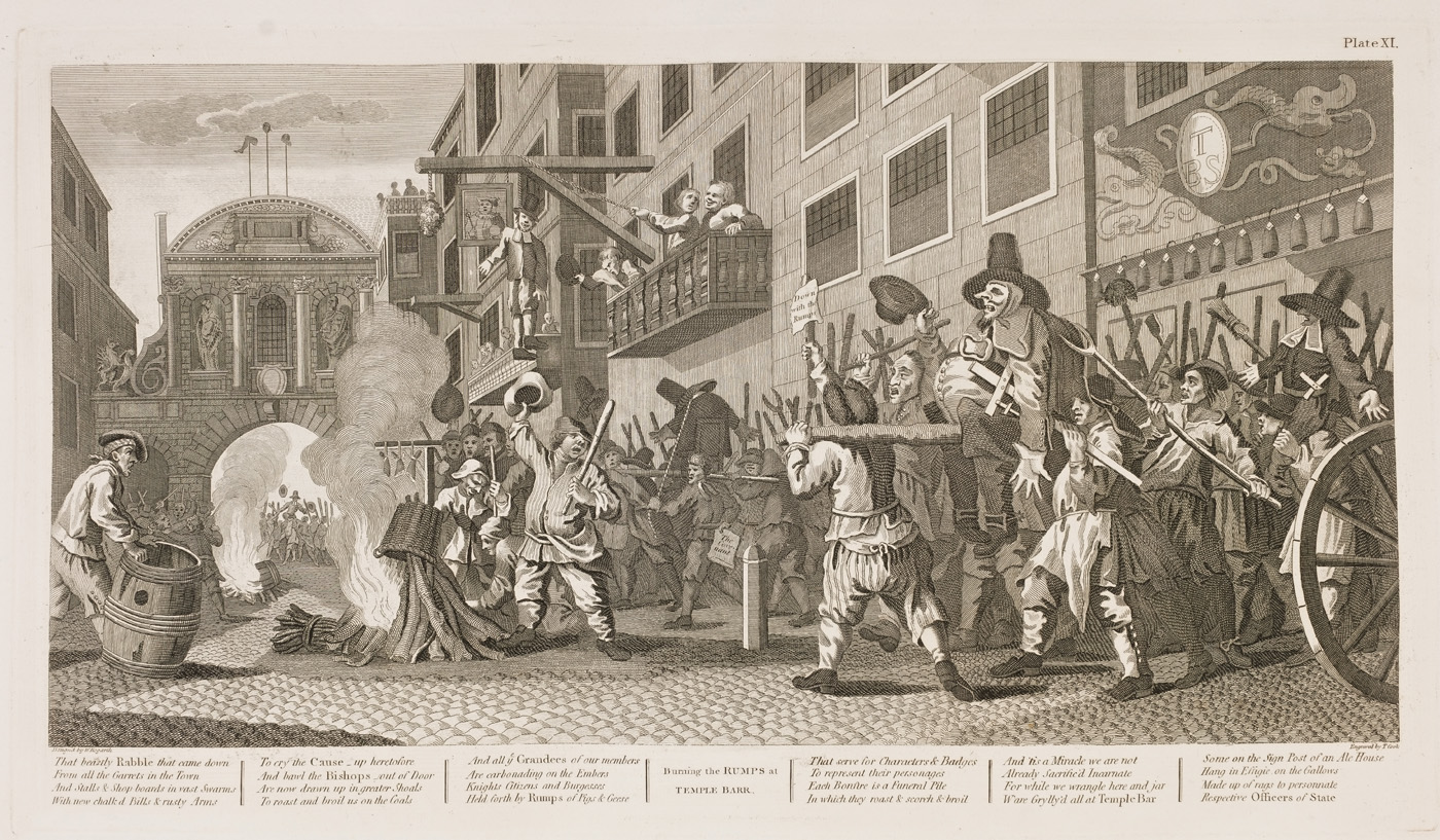 William Hogarth - Hudibras plate 11