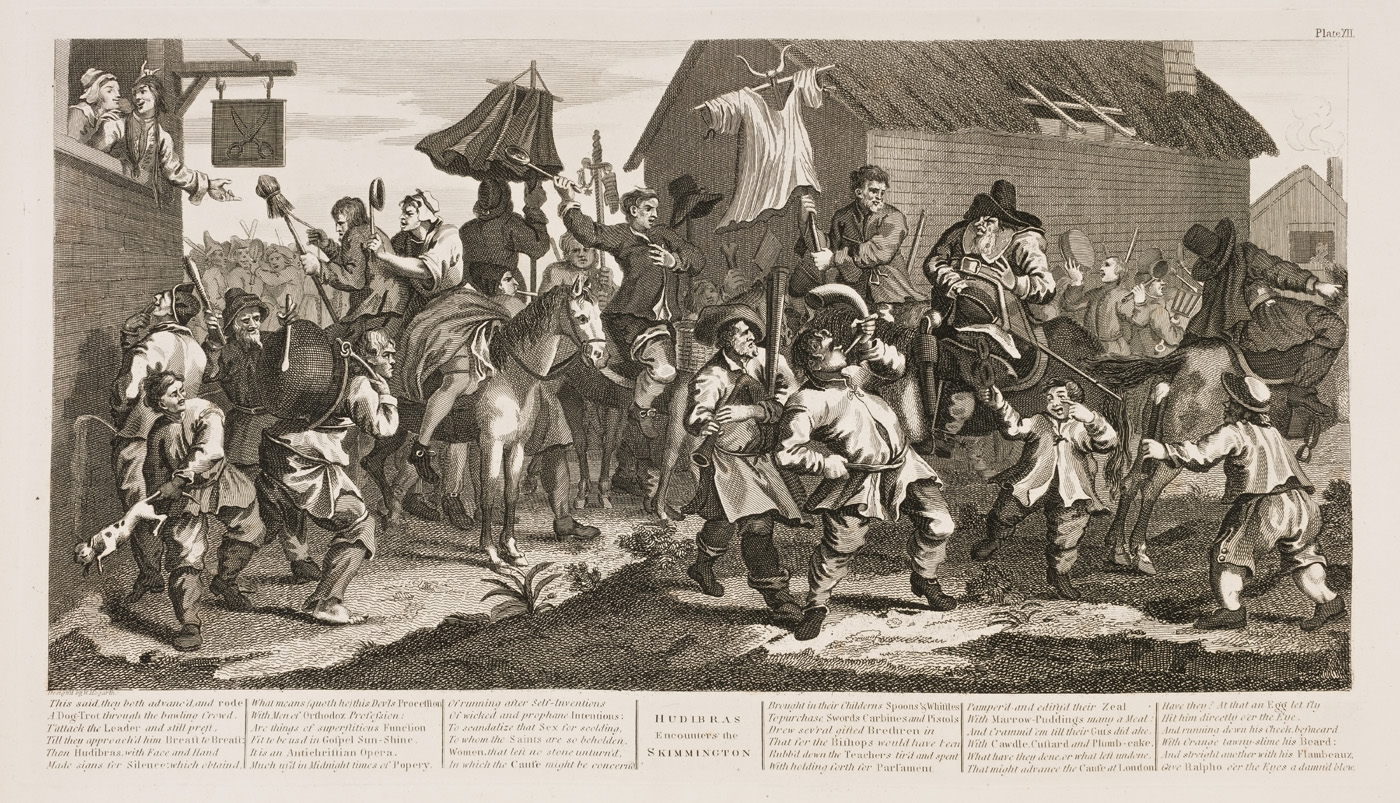 William Hogarth - Hudibras plate 12