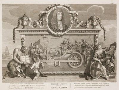 William Hogarth - Hudibras plate 1