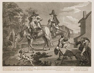 William Hogarth - Hudibras plate 2