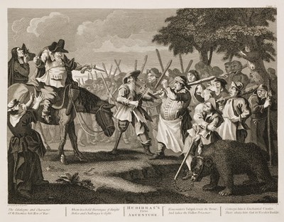 William Hogarth - Hudibras plate 3