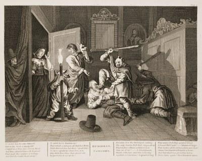 William Hogarth - Hudibras plate 4