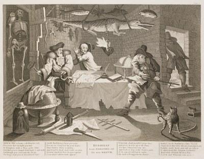 William Hogarth - Hudibras plate 8