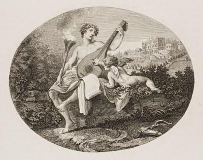 William Hogarth - Hymen and Cupid