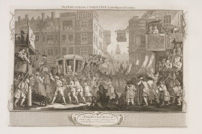 William Hogarth - Industry and Idleness - plate 12