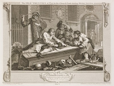 William Hogarth - Industry and Idleness - plate 3