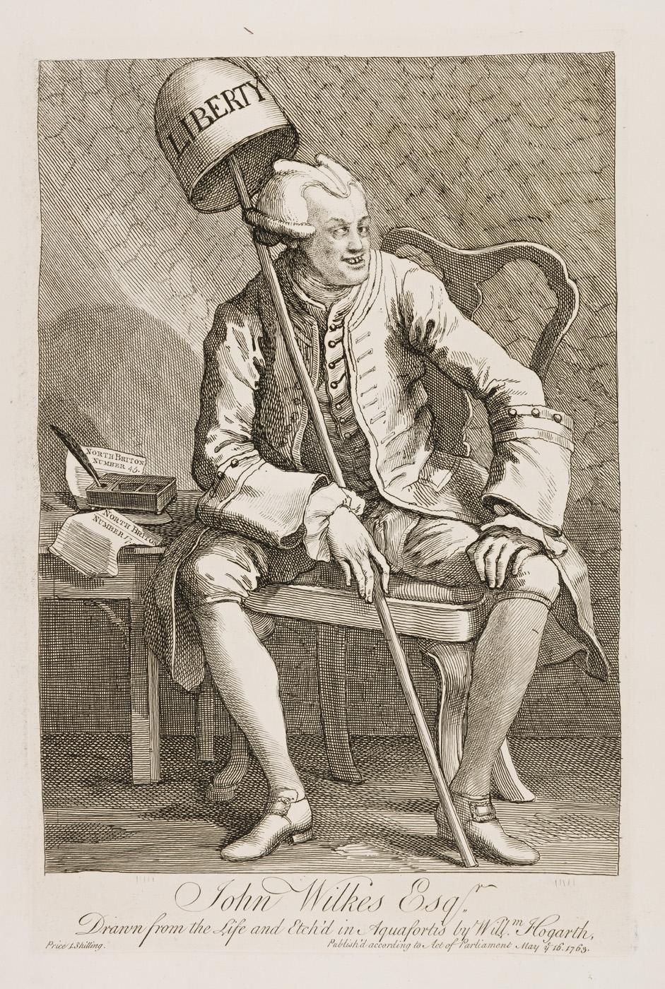 William Hogarth - John Wilkes
