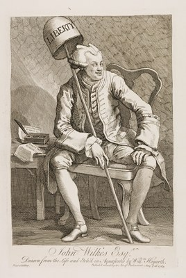 William Hogarth - John Wilkes