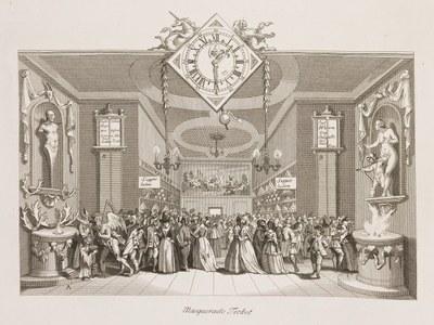 William Hogarth, Large Masquerade Ticket
