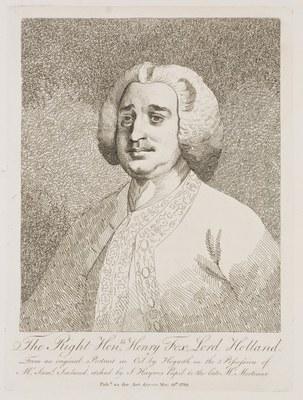 William Hogarth - Lord Holland