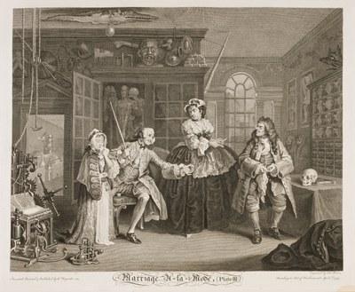 William Hogarth - Marriage à-la-mode plate 3