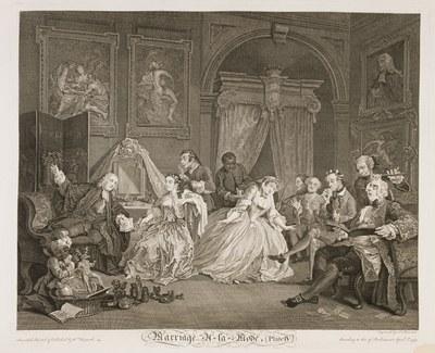 William Hogarth - Marriage à-la-mode plate 4