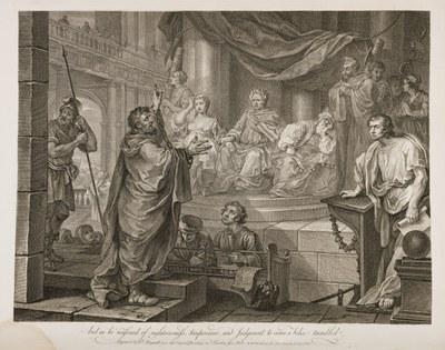 William Hogarth - Paul Before Felix 2