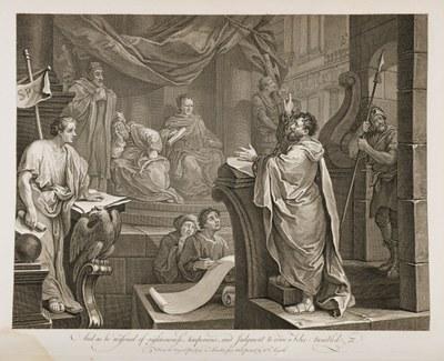 William Hogarth - Paul Before Felix 3
