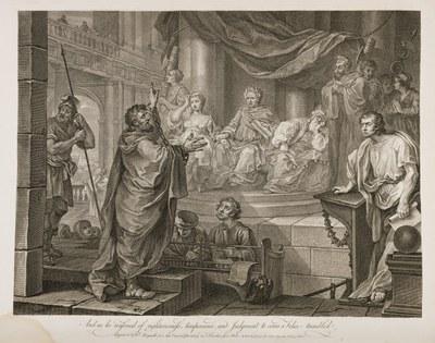 William Hogarth - Paul Before Felix II