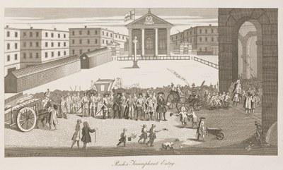 William Hogarth - Rich's Triumphant Entry