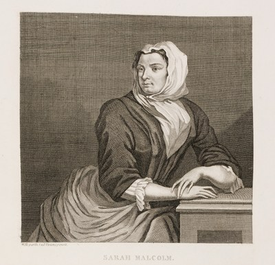 William Hogarth - Sarah Malcolm