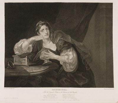 William Hogarth - Sigismunda