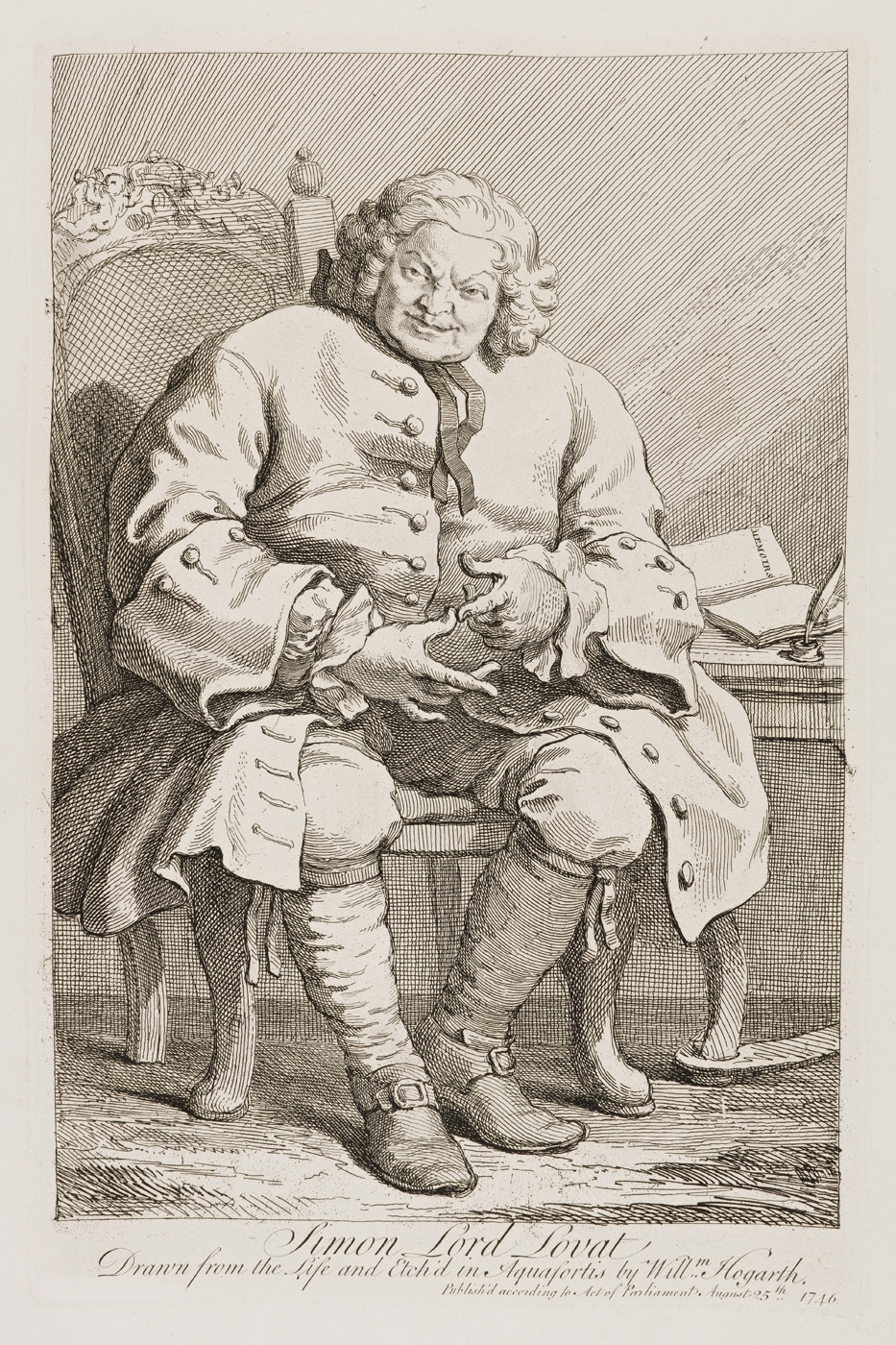 William Hogarth - Simon Lord Lovat