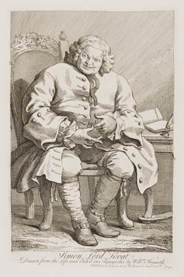 William Hogarth - Simon Lord Lovat