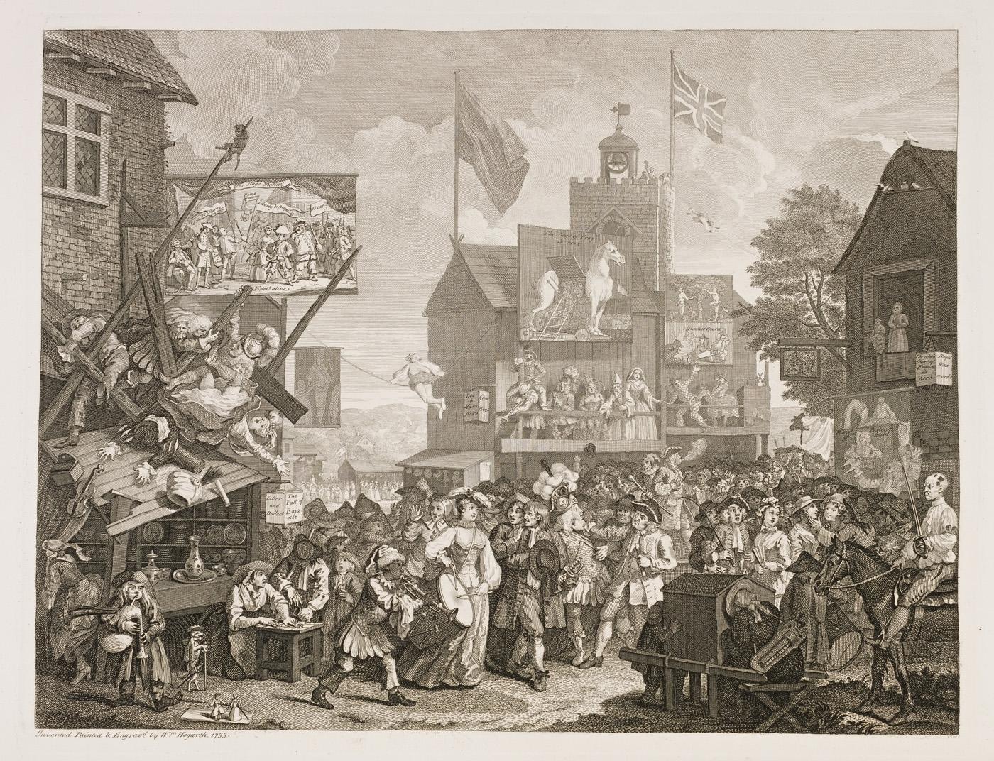 William Hogarth - Southwark Fair