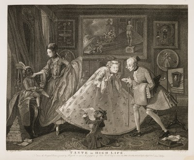 William Hogarth - Taste in High Life