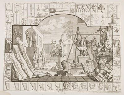 William Hogarth - The Analysis of Beauty 1