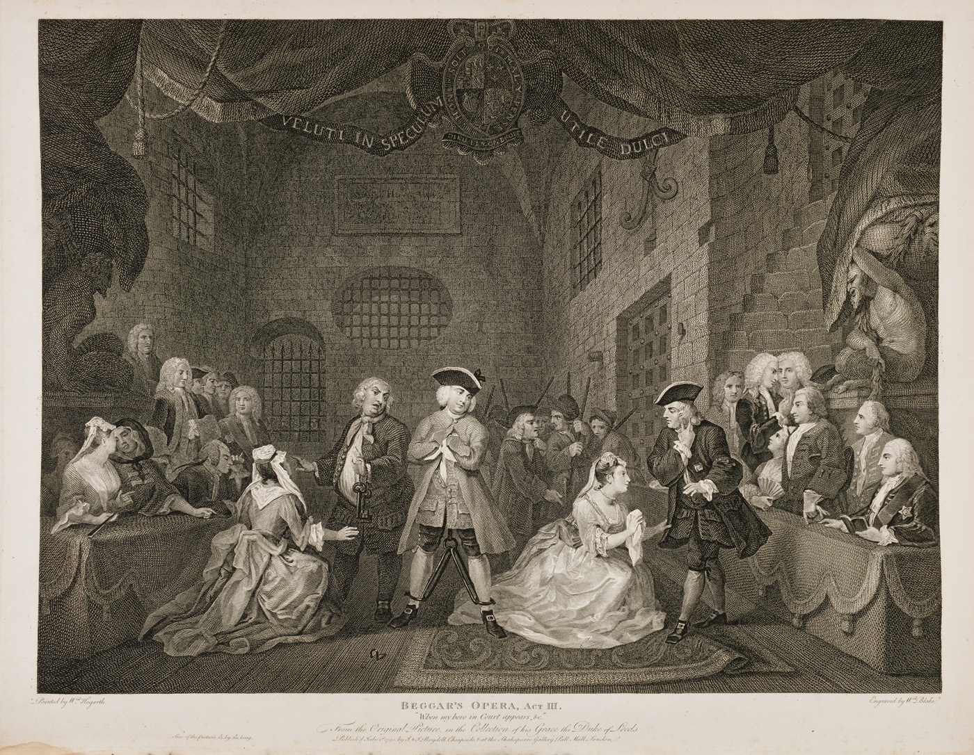 William Hogarth - The Beggar's Opera