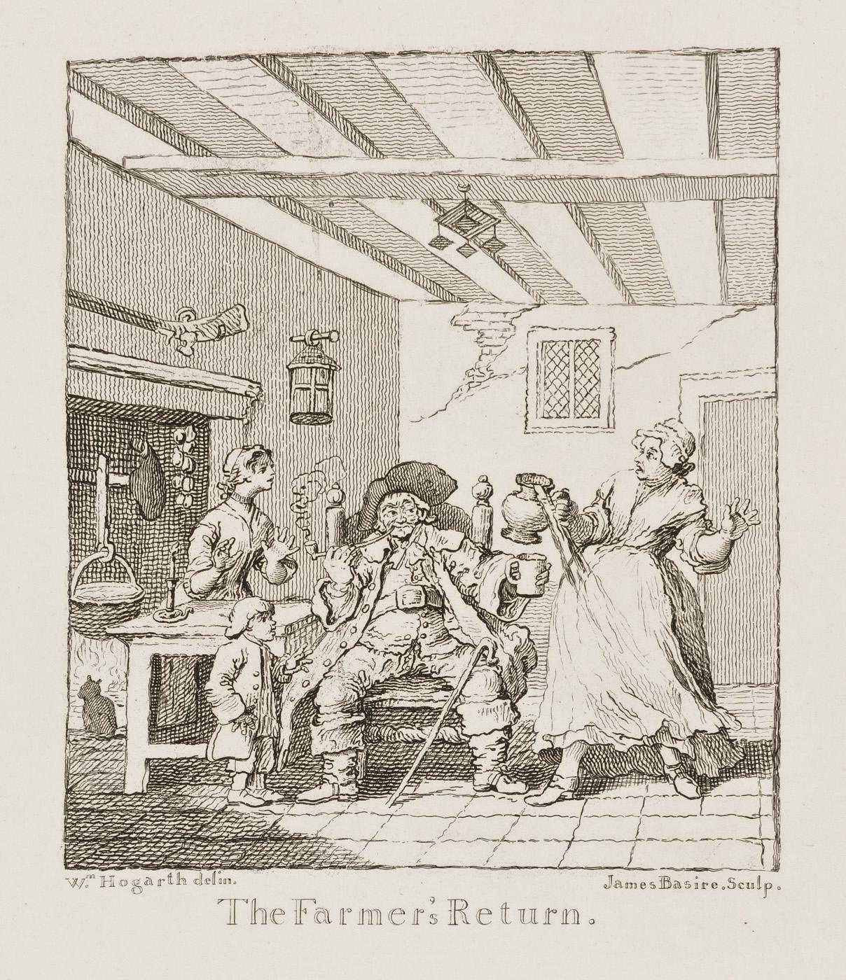 William Hogarth - The Farmer's Return