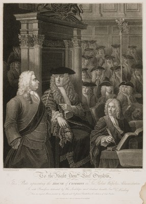 William Hogarth - The House of Commons